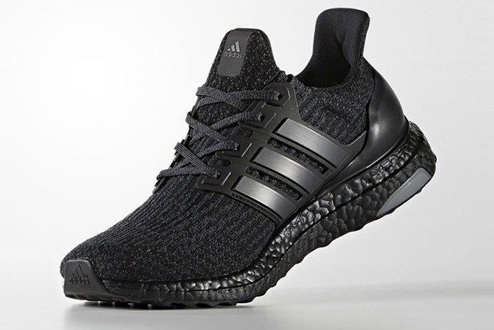 adidas ultra boost 3 0 triple black hunting for kicks. Black Bedroom Furniture Sets. Home Design Ideas
