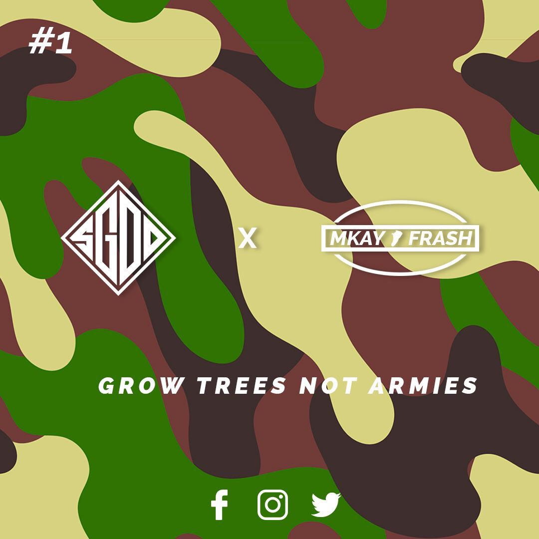 SGOD X MKAY FRASH CAMO COLLABORATION