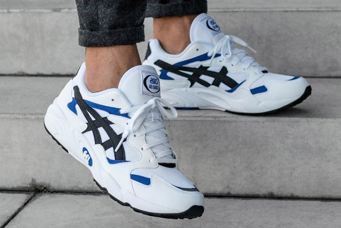 ASICS GEL-DIABLO OG (WHITE/BLACK)