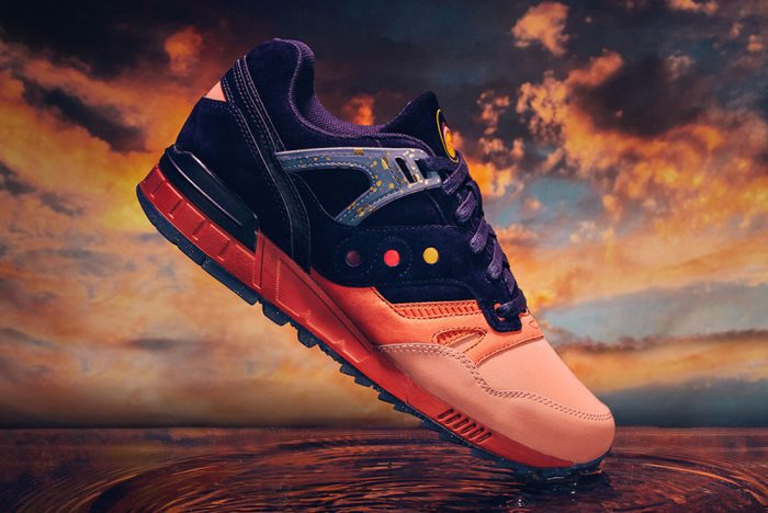 SAUCONY GRID SD (SUMMER NIGHTS)