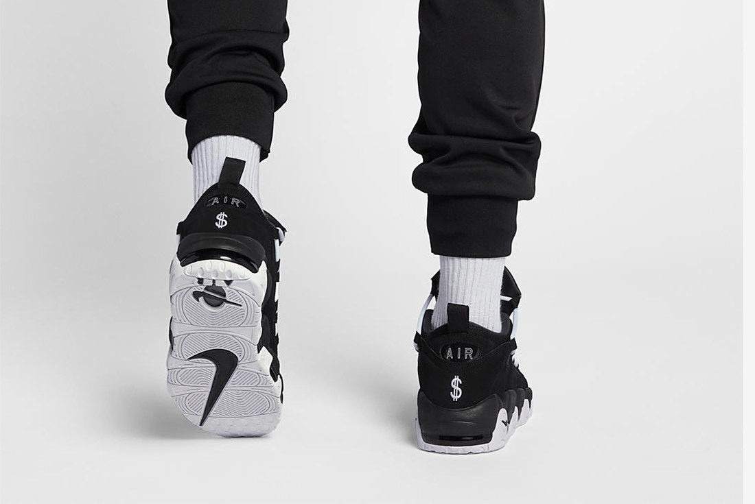 Enrich Your Collection with the Nike Air More Money in Black and White
