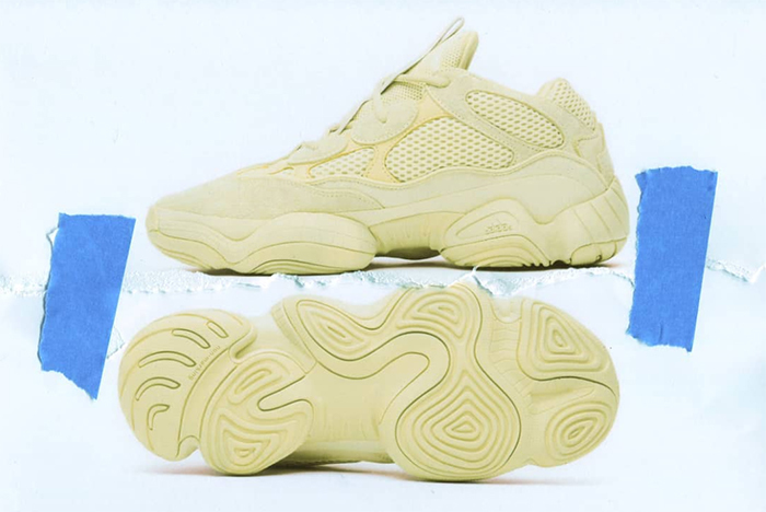 Complete Store List for Kanye's 'Supermoon Yellow' Yeezy 500s