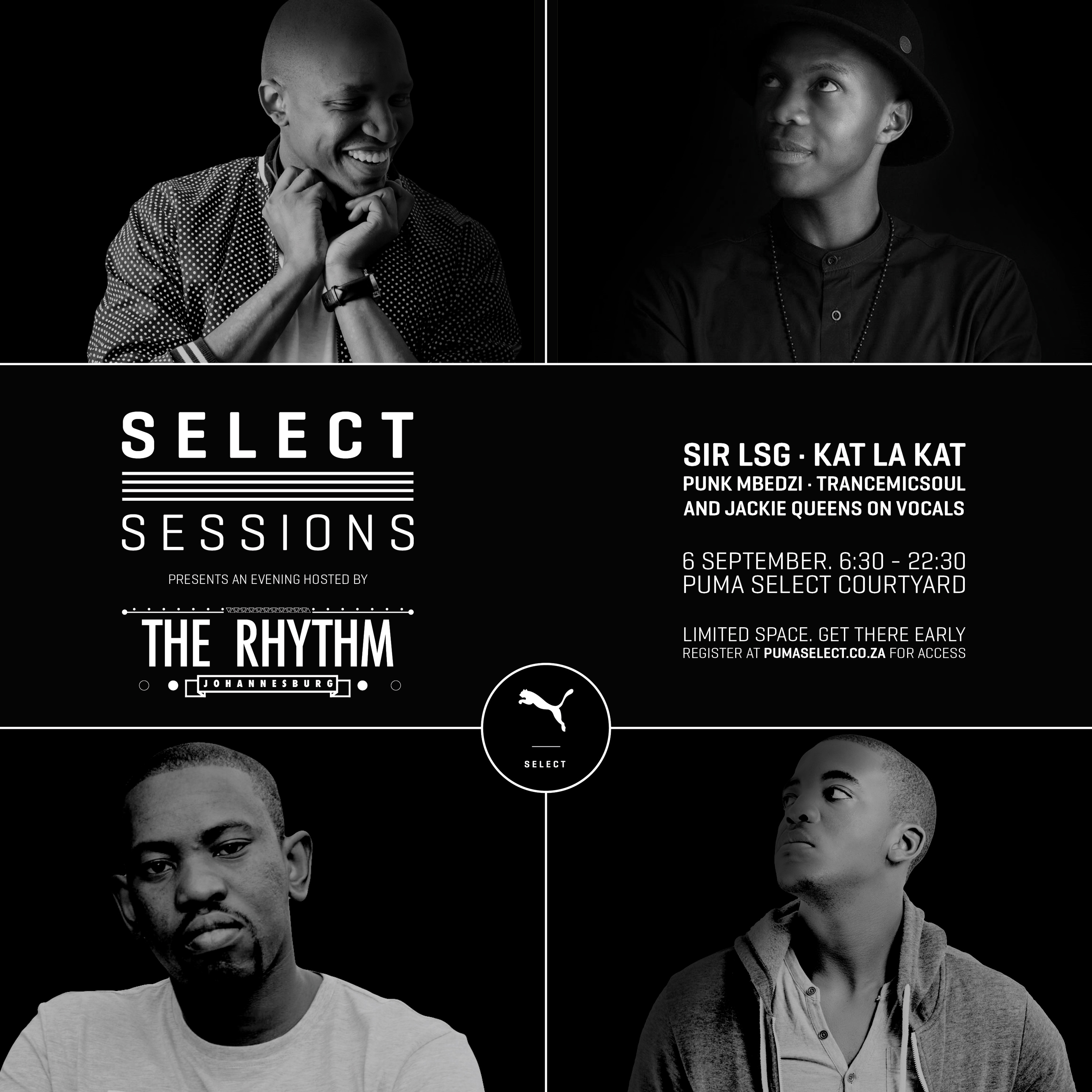 PUMA Select Sessions Presents an Evening Hosted by The Rhythm