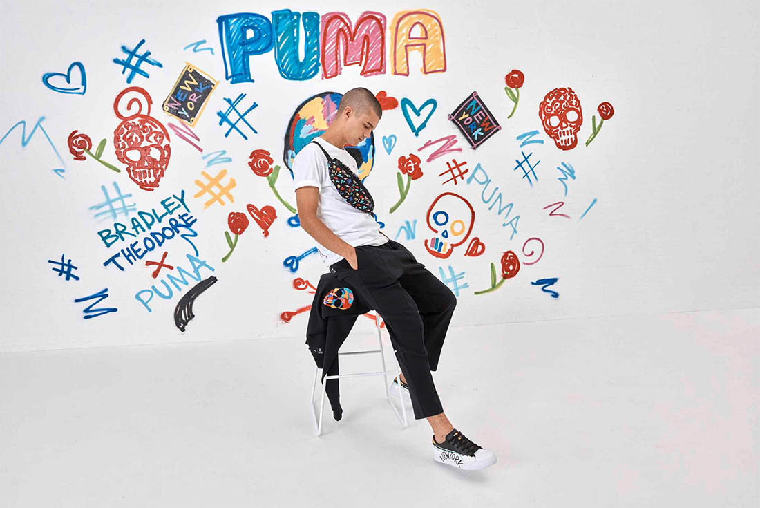 Look out for the Vibrant PUMA x Bradley Theodore Collection in 2019