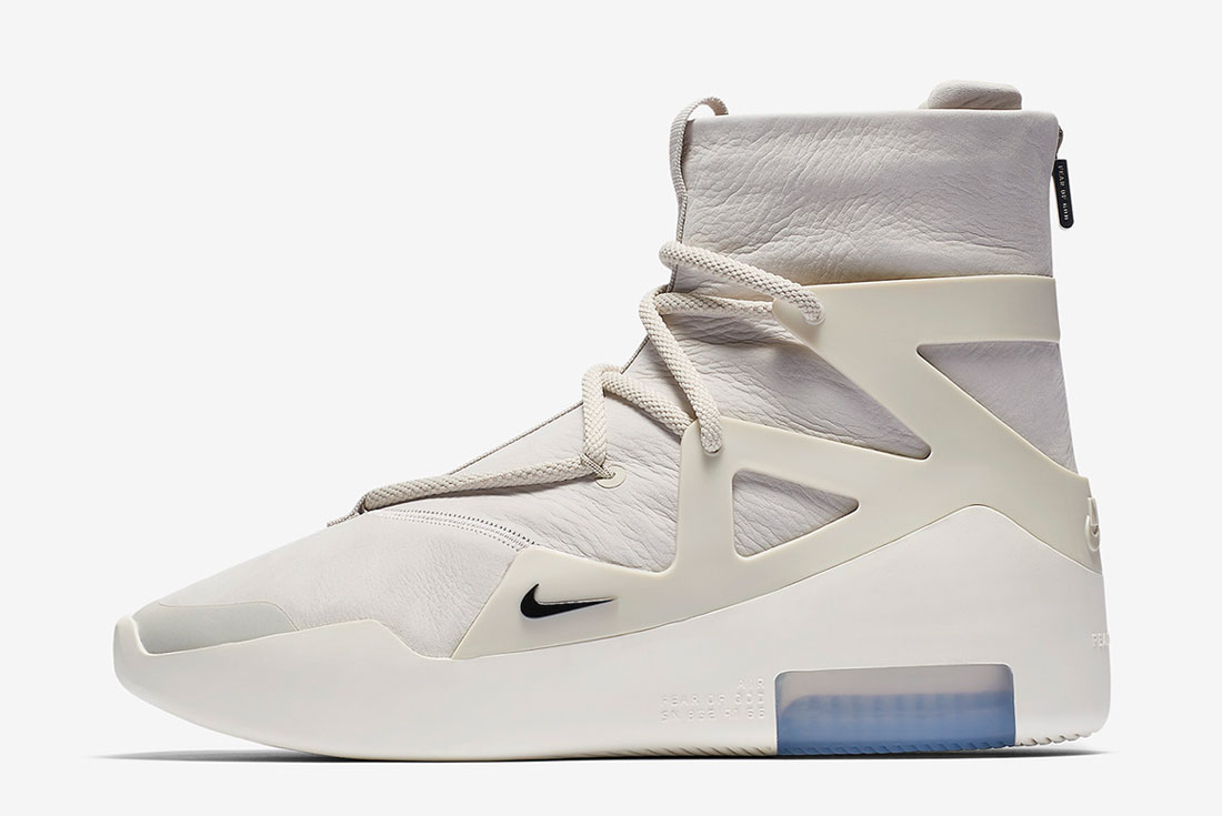 The Nike Air Fear of God 1 'Light Bone' Drops this Weekend