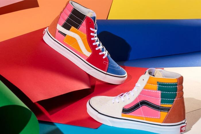Vans Unleash a Colourful Patchwork Collection