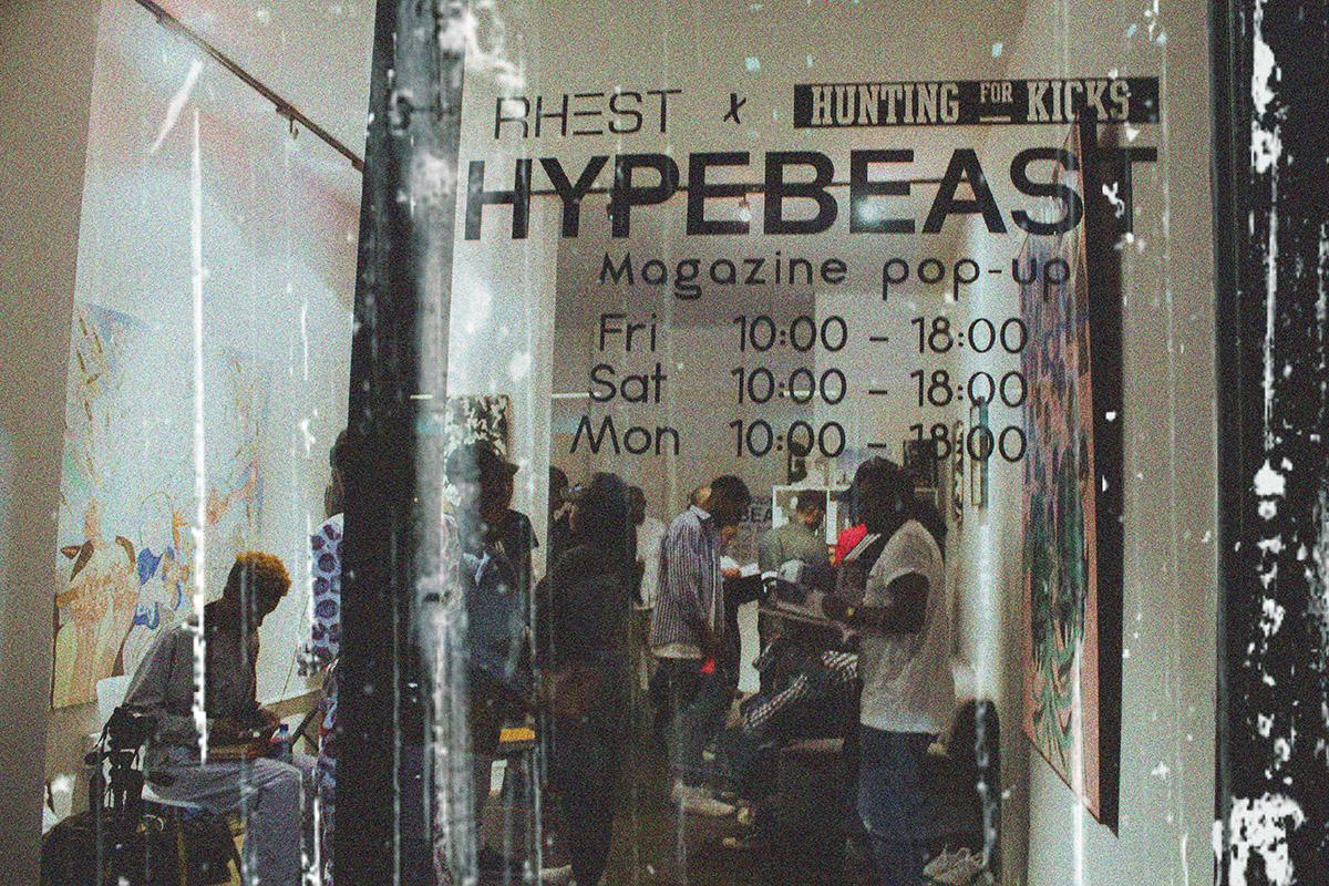 The Hypebeast Magazine Pop Up