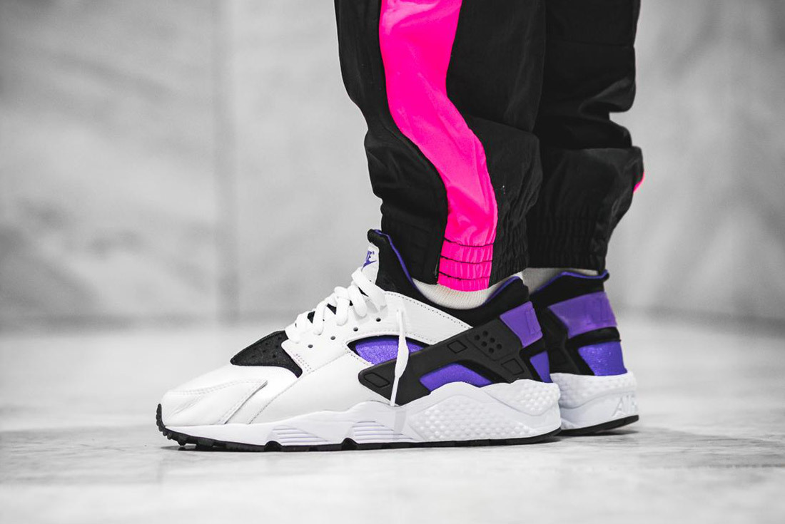 62a718efb40f5 Nike s Air Huarache  Purple Punch  is Still a Knockout - HUNTING FOR KICKS