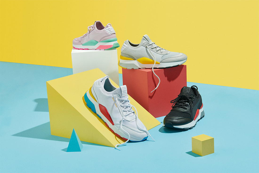 PUMA CONTINUES FUTURE RETRO COOL WITH THE RS-0 PLAY