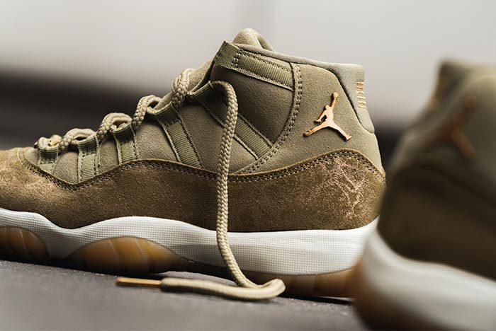 The Air Jordan 11 Bears Fruit with 'Neutral Olive' Drop