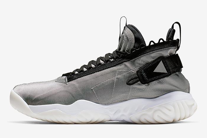 The Air Jordan Proto-React Surfaces in Silver