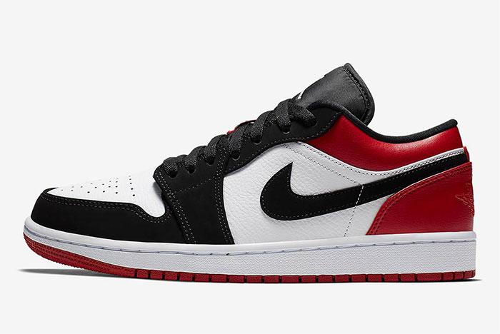 The Air Jordan 1 'Black Toe' Returns in Low Form!