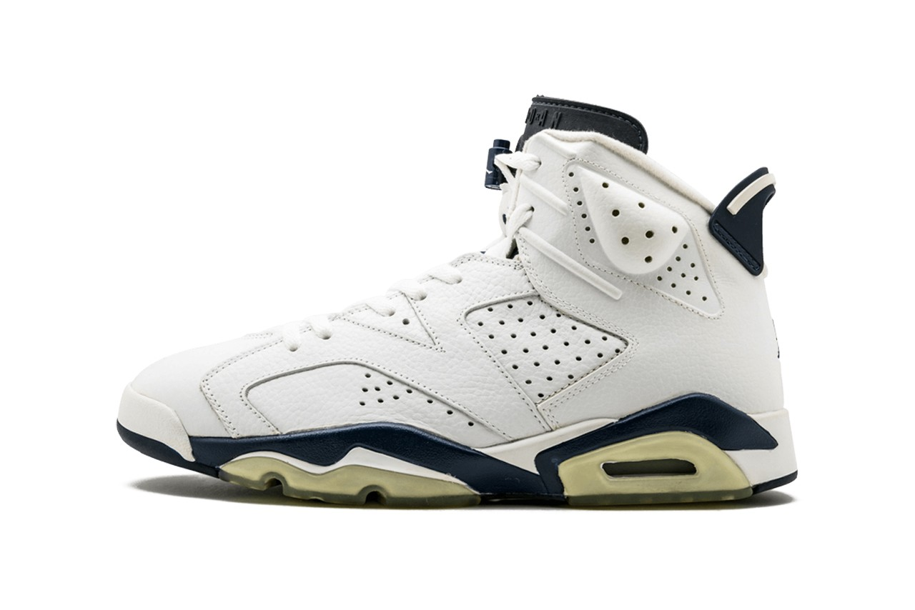 "Air Jordan 6's Retro ""Midnight Navy"" Colourway Makes a Return"