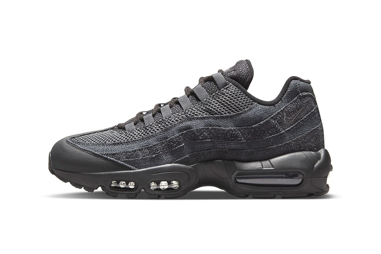 "Nike's Air Max 95 Receives Textured ""Iron Grey"" Colourway"